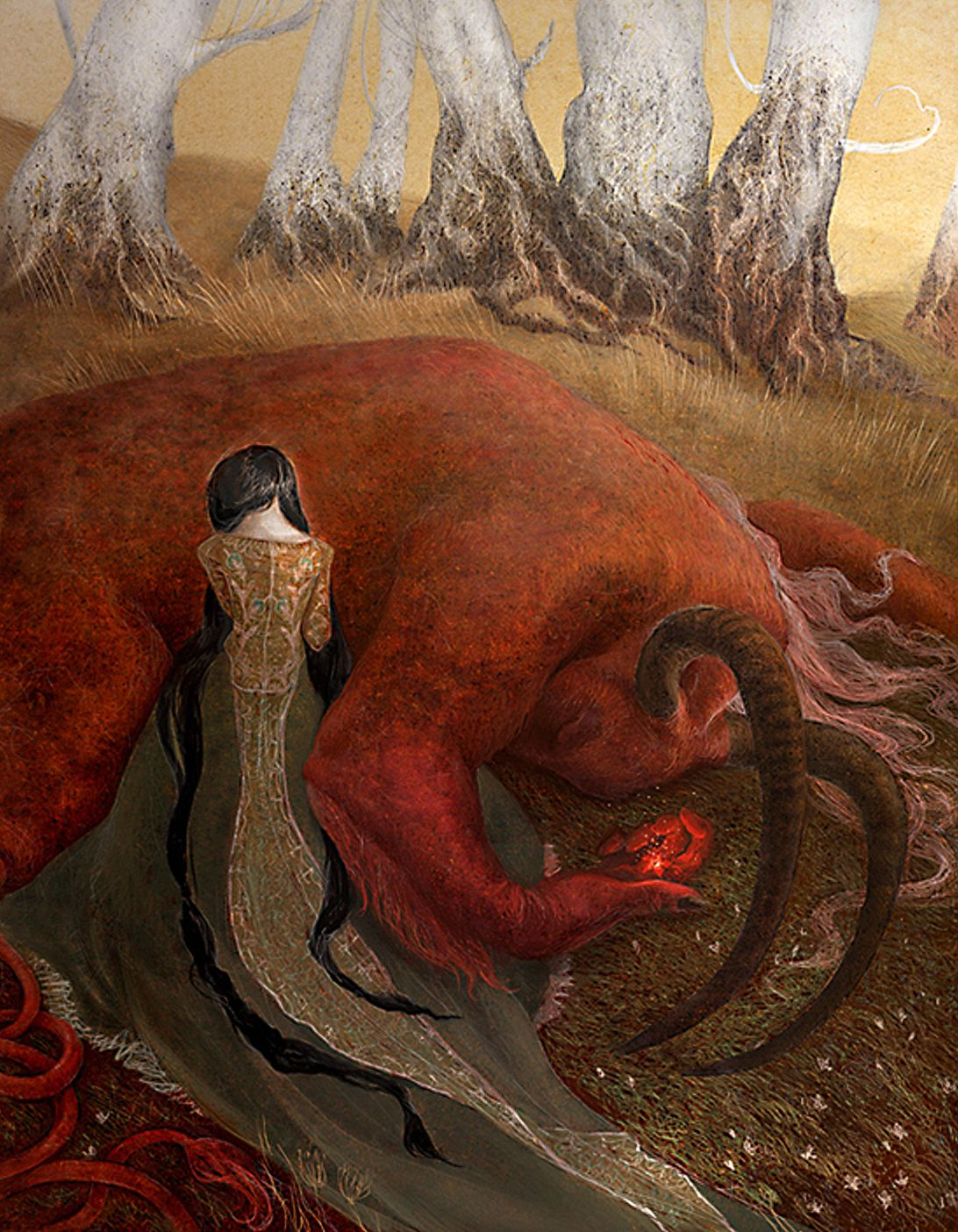 Favorite fairy tales. The Scarlet Flower