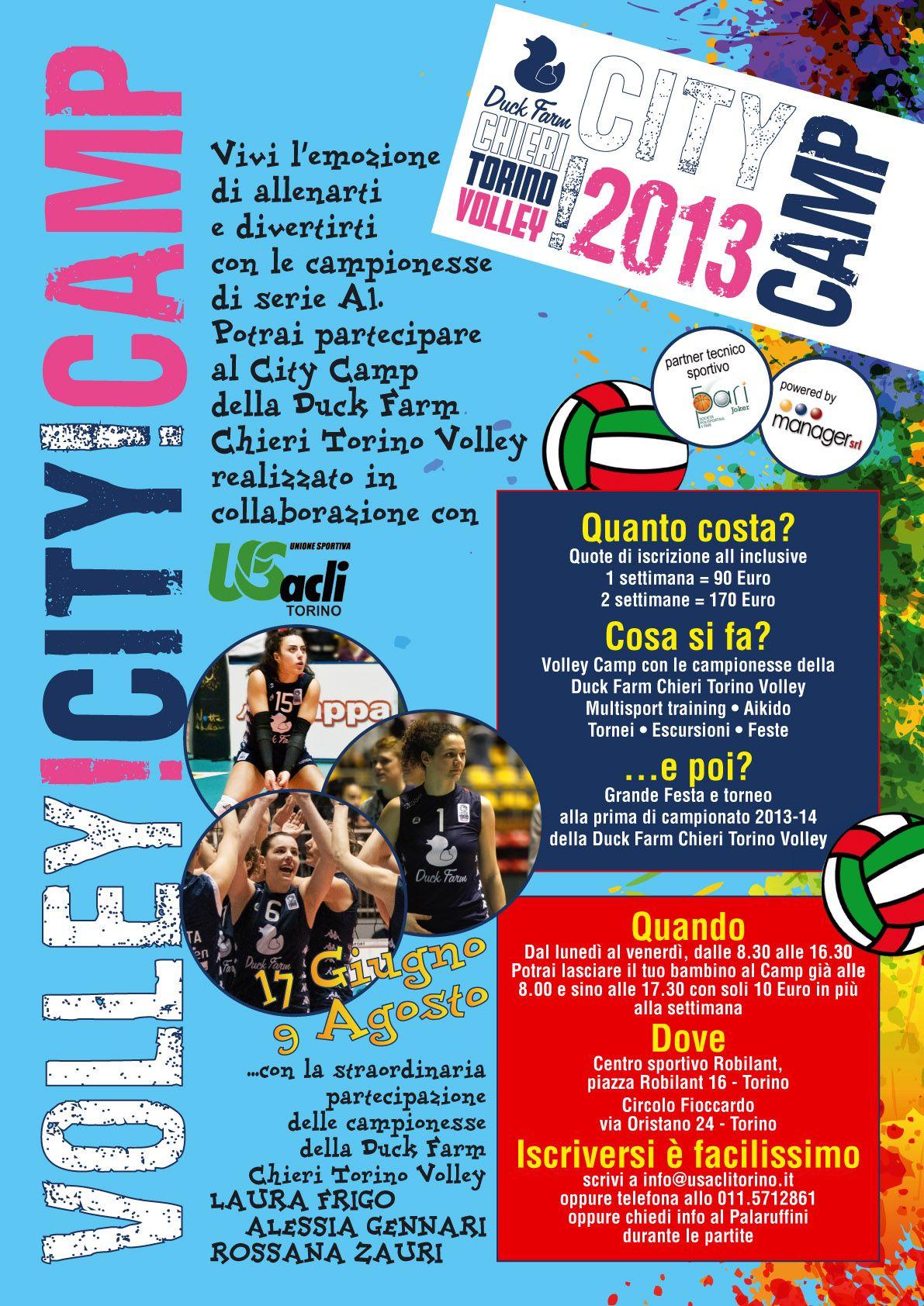 volley city camp 2013