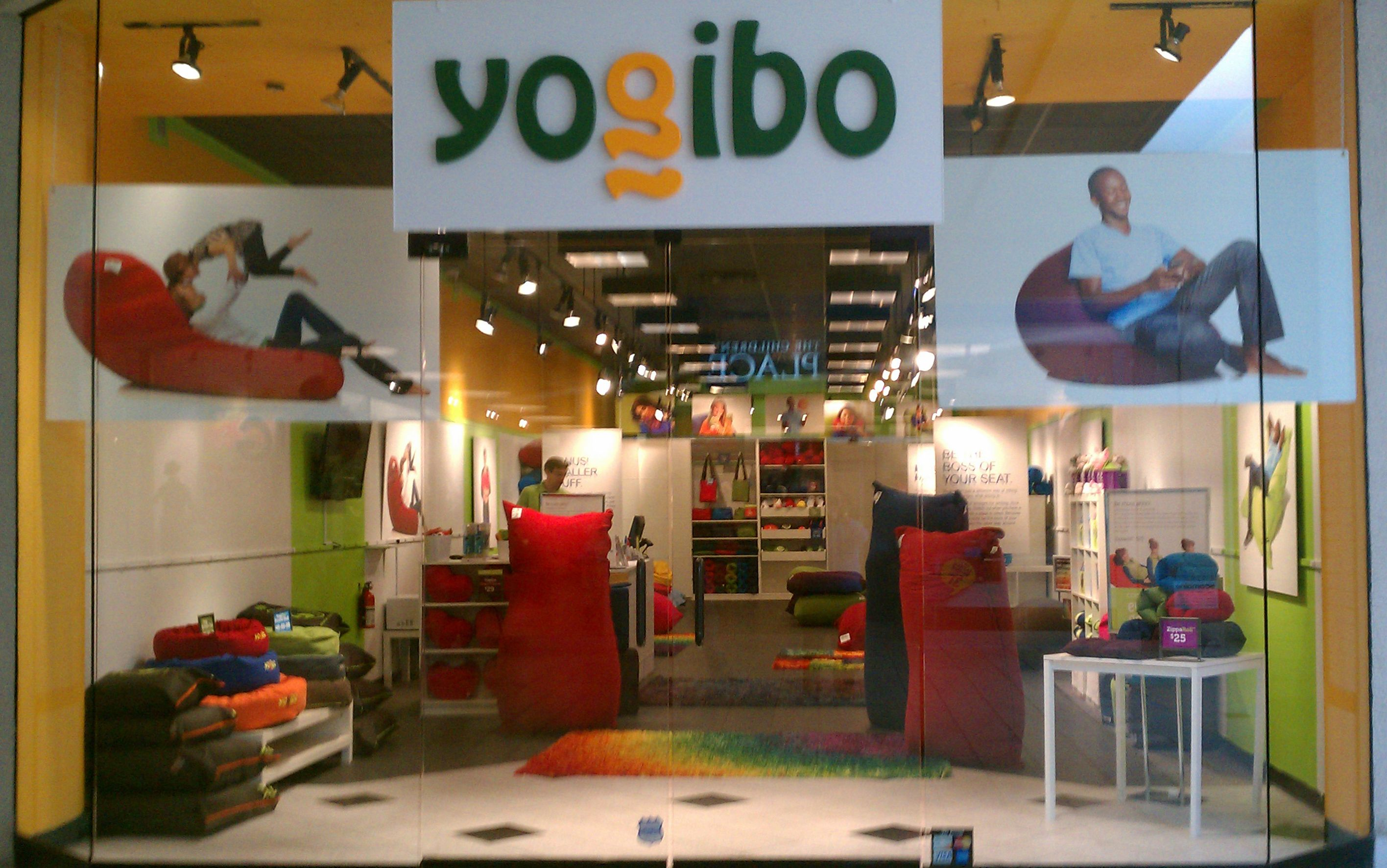 The Entire Yogibo Store At Maine Mall Of Portland