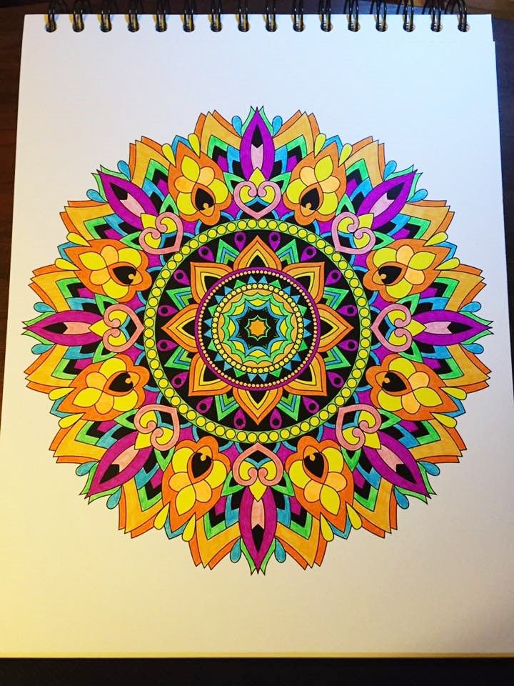 Colorit Mandalas To Color Volume 1 Colorist Terri Ferguson Dobbs Adultcoloring Coloringforadults Mandalas M Mandala Coloring Mandala Design Art Circle Art