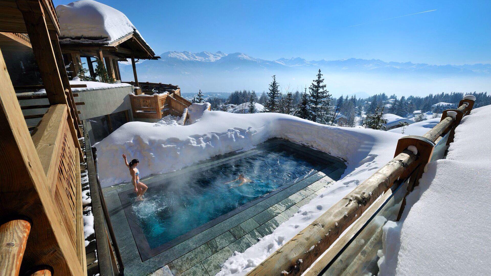 Ski Lodge Pool