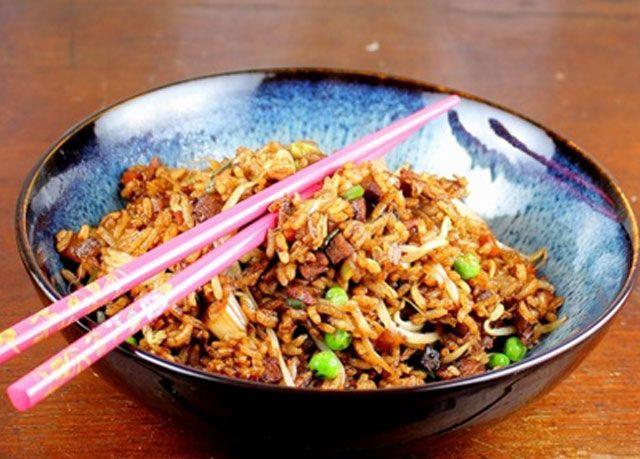 Riz Saute Aux Legumes Et Soja Ww Recette Plat Vegetarien Plat