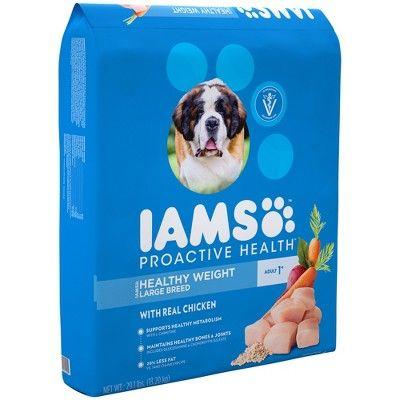 Iams Proactive Healthy Weight Large Breed Dry Dog Food 29 1lbs