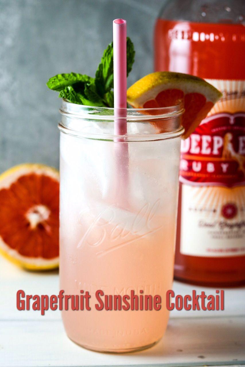 Grapefruit Sunshine Cocktail