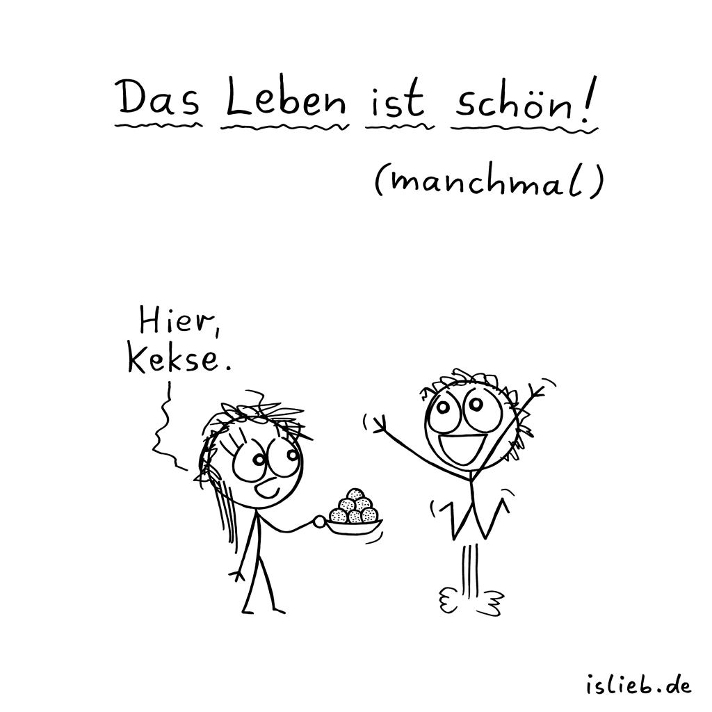 Manchmal. Is lieb? | #kekse #leben #glücklich #islieb