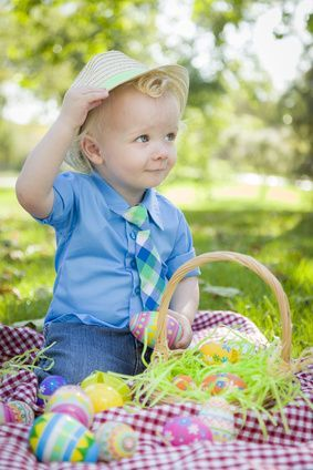 25 Ideas For A Toddler Easter Basket Baby Easter Pictures