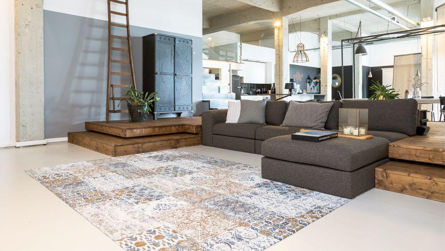 Vanguard avondlicht #tapijt brengt gezelligheid naar de woonkamer ...