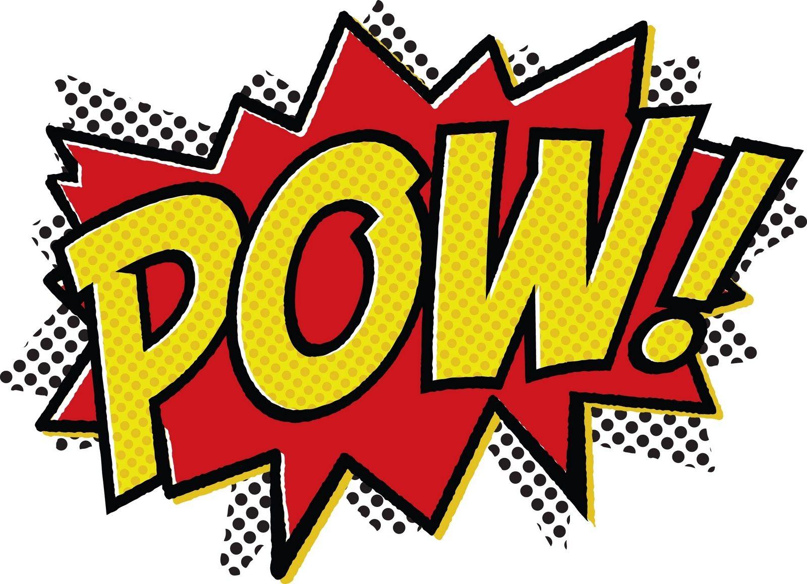 Superhero Word Bubble Free Printable