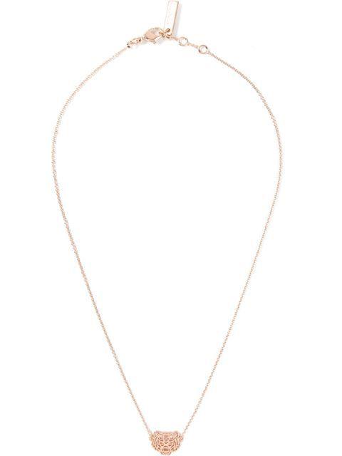 KENZO mini tiger necklace. #kenzo #迷你老虎造型项链