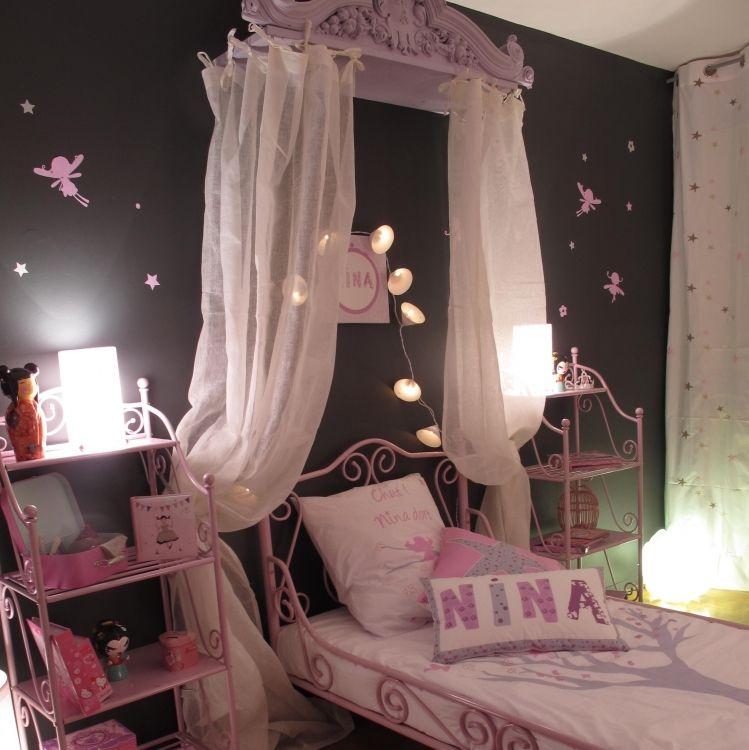 chambre rose et grise | idée déco chambre fille | Pinterest ...