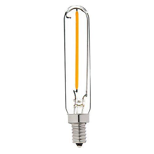 Century Light 1w Led Filament Long Tubular Night Light Bulb 2200k Warm White 100lm Candelabra E12 Base Night Light Bulbs Filament Bulb Energy Efficient Bulbs