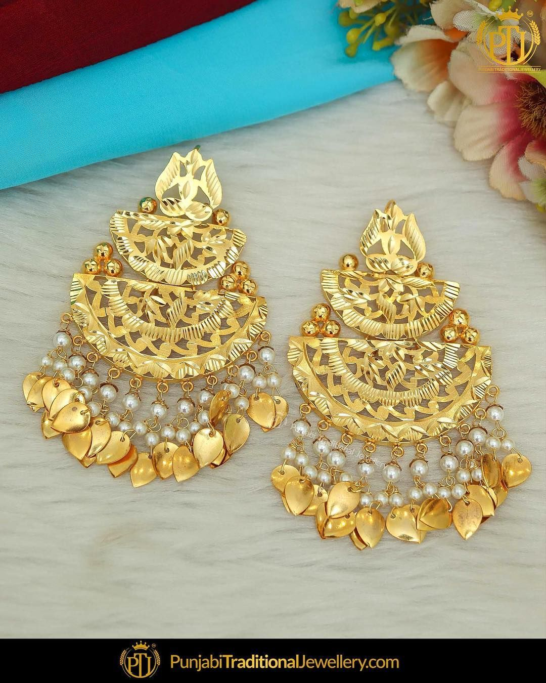4,462 Likes, 48 Comments Punjabi Traditional Jewellery
