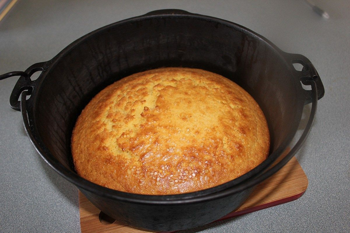 Cast Iron Cookery: Dutch Oven Taco Cornbread - Lehman's Country Life