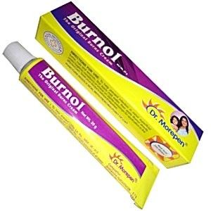 Burnol First Aid Antiseptic Cream for Buns Cuts Wounds