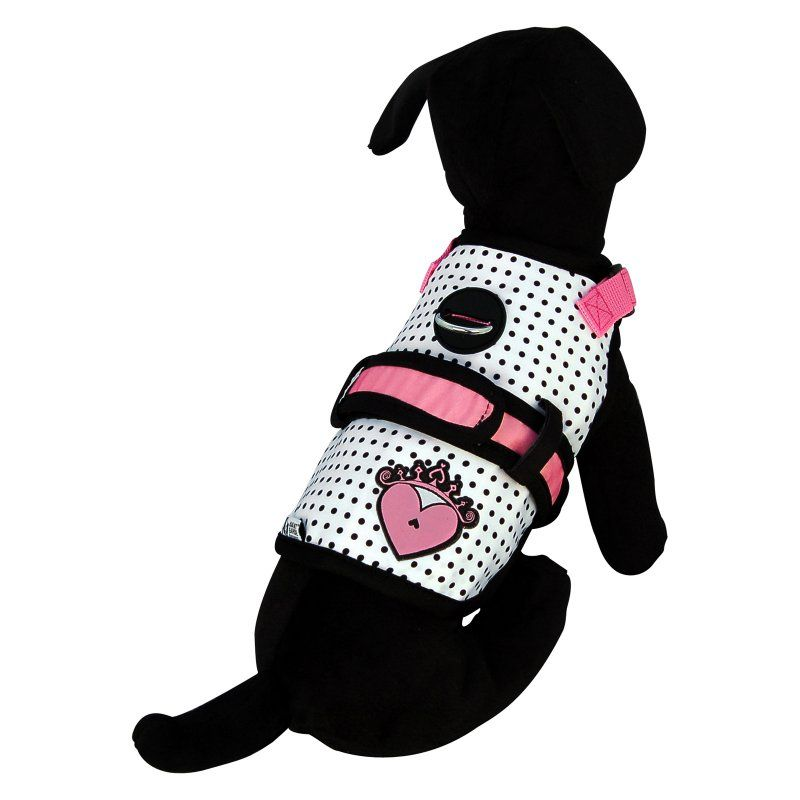 26 Bars & a Band Couture Princess Dog Harness - COUTURE PRINCESS AGHARNESS XS