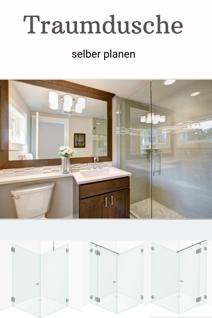 Planen Sie Fur Ihr Neues Badezimmer Die Duschkabine Selbst Die Neuen Online Tools Von Glasprofi24 Machen Es Ihnen Einfach Traumdusche Dusche Duschabtrennung