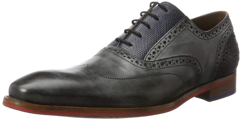 Business Schuhe | Bianco Trend Elegante Oxford Derby Schuhe