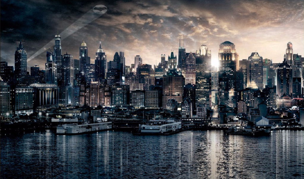 Cameo Gamerati Gotham City Skyline Gotham City Map City Wallpaper