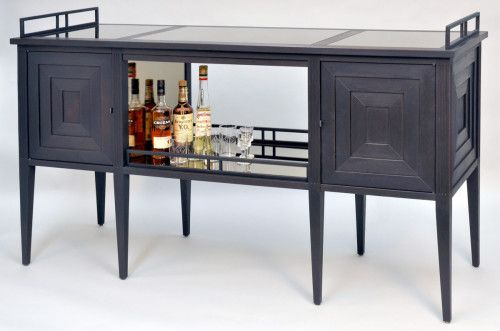 Ordinaire Art Deco Bar Cabinet By Dan Mosheim Of Dorset Custom Furniture, A Member Of  The Guild Of Vermont Furniture Makers. This Art Deco Style Cabinet Has  Lights ...