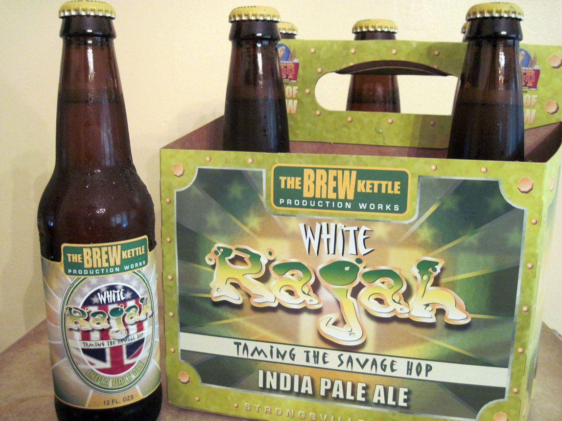 The Brew Kettle S White Rajah India Pale Ale Strongsville Ohio India Pale Ale Pale Ale Brewing