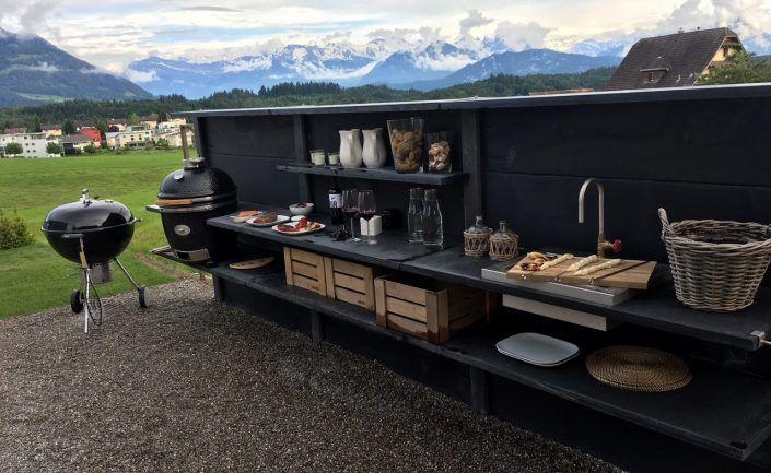 Wwoo wwoo outdoor kitchen in anthracite with wwoo outdoor