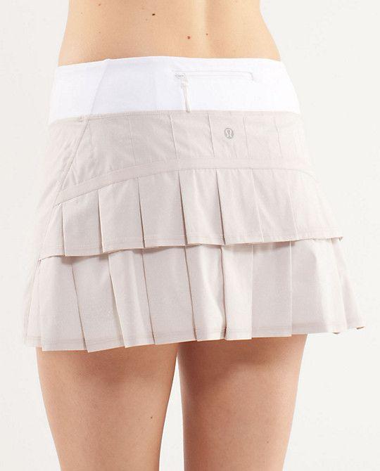 56449480e Lululemon Run Pace Setter Skirt $58.00 Dune Shimmer 2 Way Stretch Regular