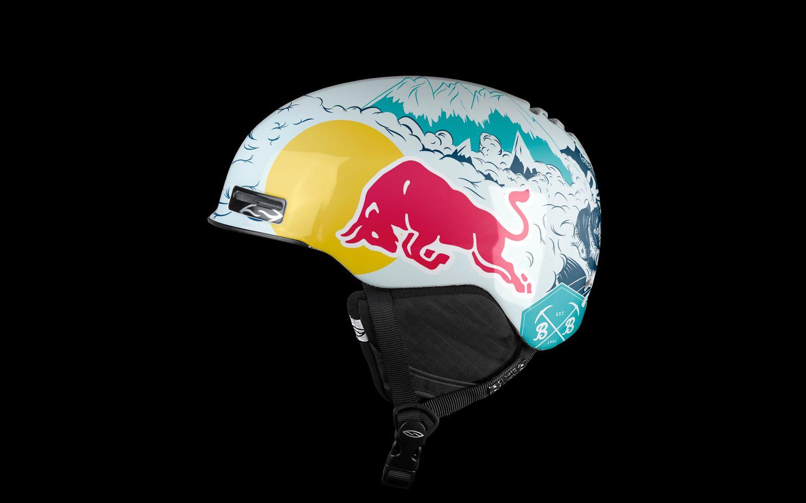 Smith Maze Red Bull Pro Helmet Ski Helmets Helmet Helmet Design