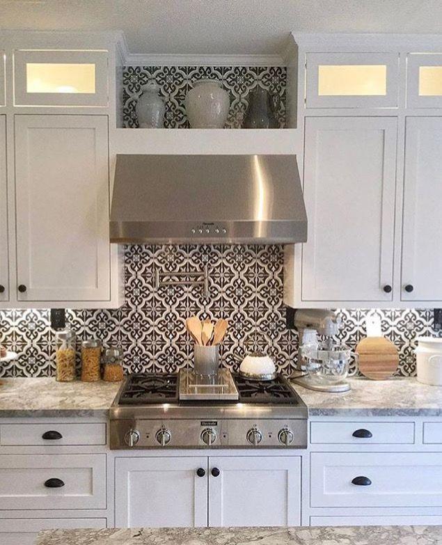Painted Kitchen Backsplash Ideas: Back Splash Tiles