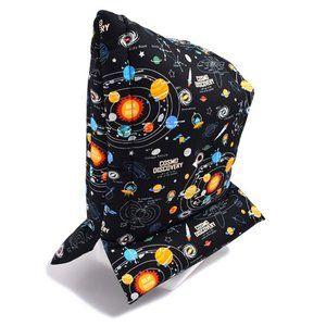 Photo of 防災頭巾(椅子固定ゴム付き) 太陽系惑星とコスモプラネタリウム(ブラック) (防災頭巾 小学校 防災頭巾 子供 防災頭巾 座布団) :N4432300:COLORFUL CANDY STYLE – 通販 – Yahoo!ショッピング