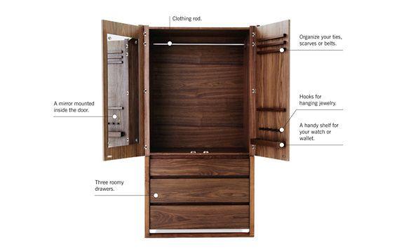 Matera Armoire Modern Armoire Dresser Design Storage Bench Designs
