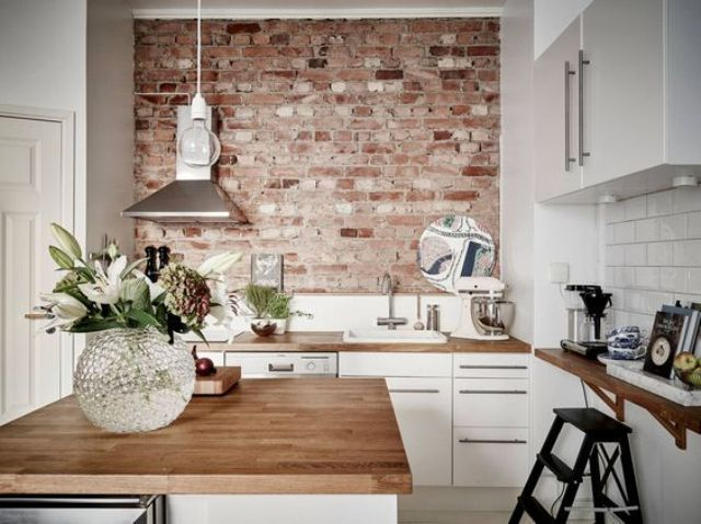 Wonderful There Are Various Ways To Use Brick Walls In Decor, Lots Of Ideas To Cover