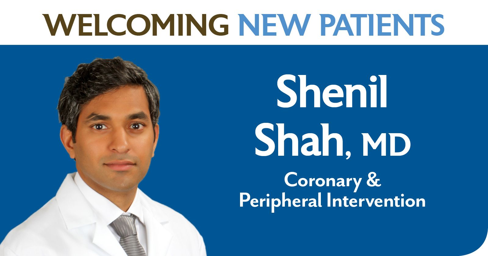 Shenil Shah, MD, has joined Franciscan Physician Network