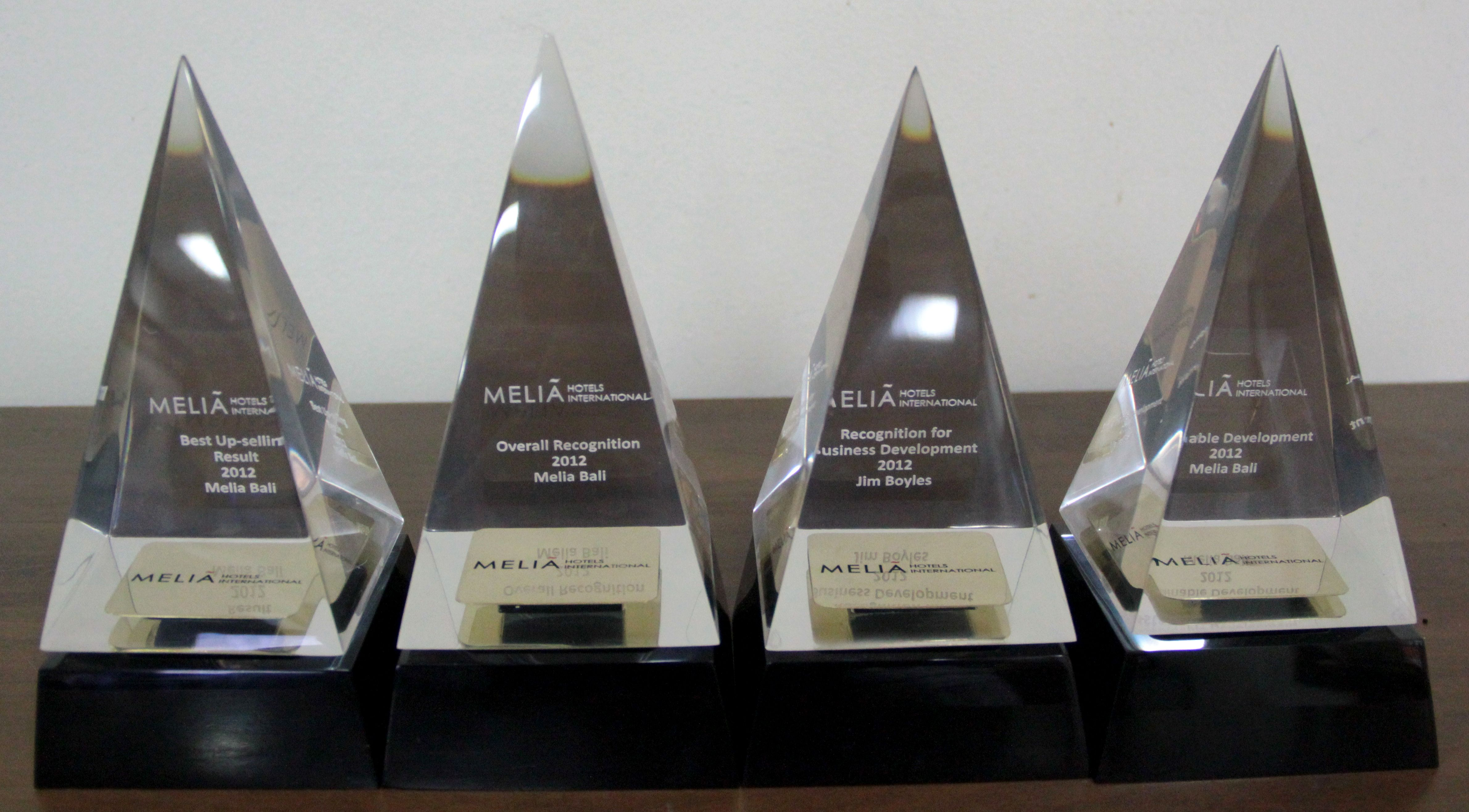 28 November 2012 MELIÃ BALI was honored to be chosen
