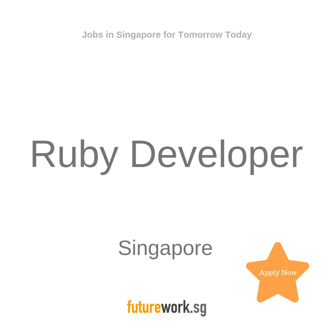 Ruby Developer A leading financial organisation seek an