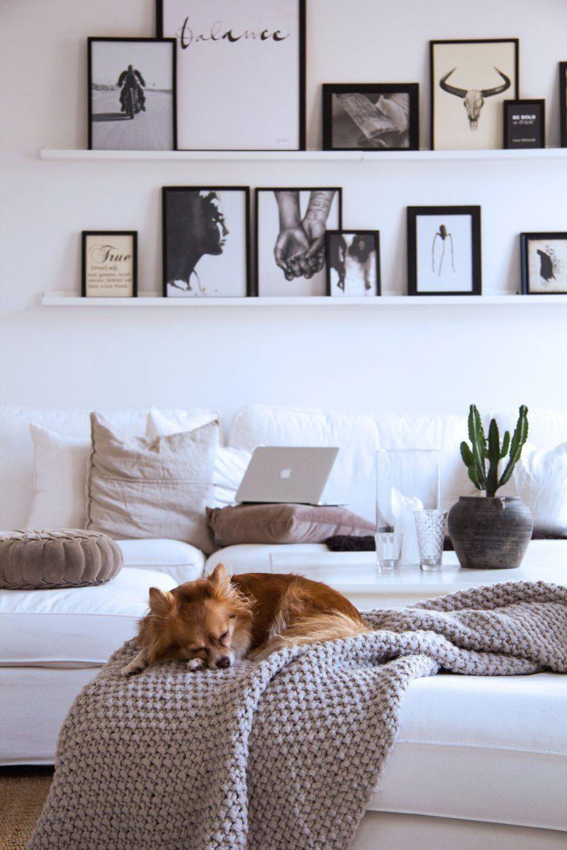 livingroom, interior inspiration, white home, vardagsrum ... : vardagsrum inredning : Inredning
