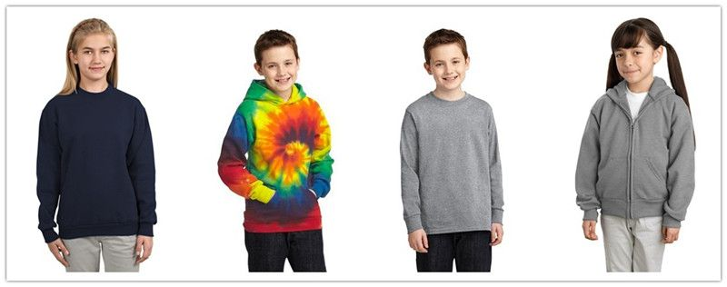 Port  and Company Fall Apparel for Youth from NYFifth