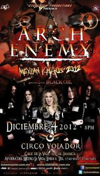 Arch Enemy En Mexico Movie Posters Movies Poster