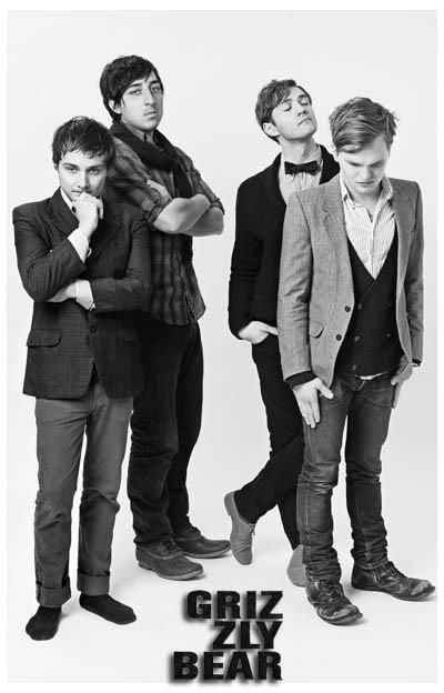 Grizzly Bear Band Poster 11x17 | Grizzly bear, Music book ...