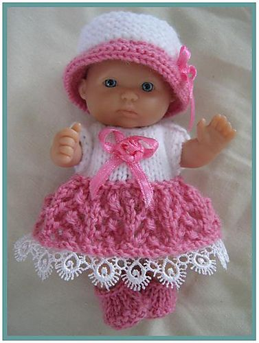 5 Berenguer Dolls Dress Pattern By Tracey Devenney Dress Patterns