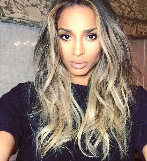 Ciara hair colour