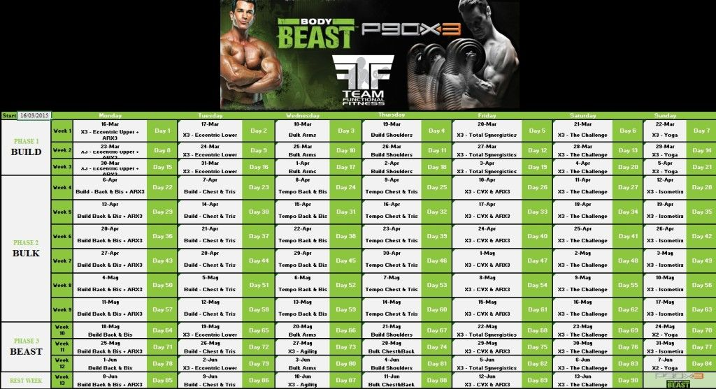 t25 body beast hybrid schedule pdf google search beachbody pinterest body beast and. Black Bedroom Furniture Sets. Home Design Ideas