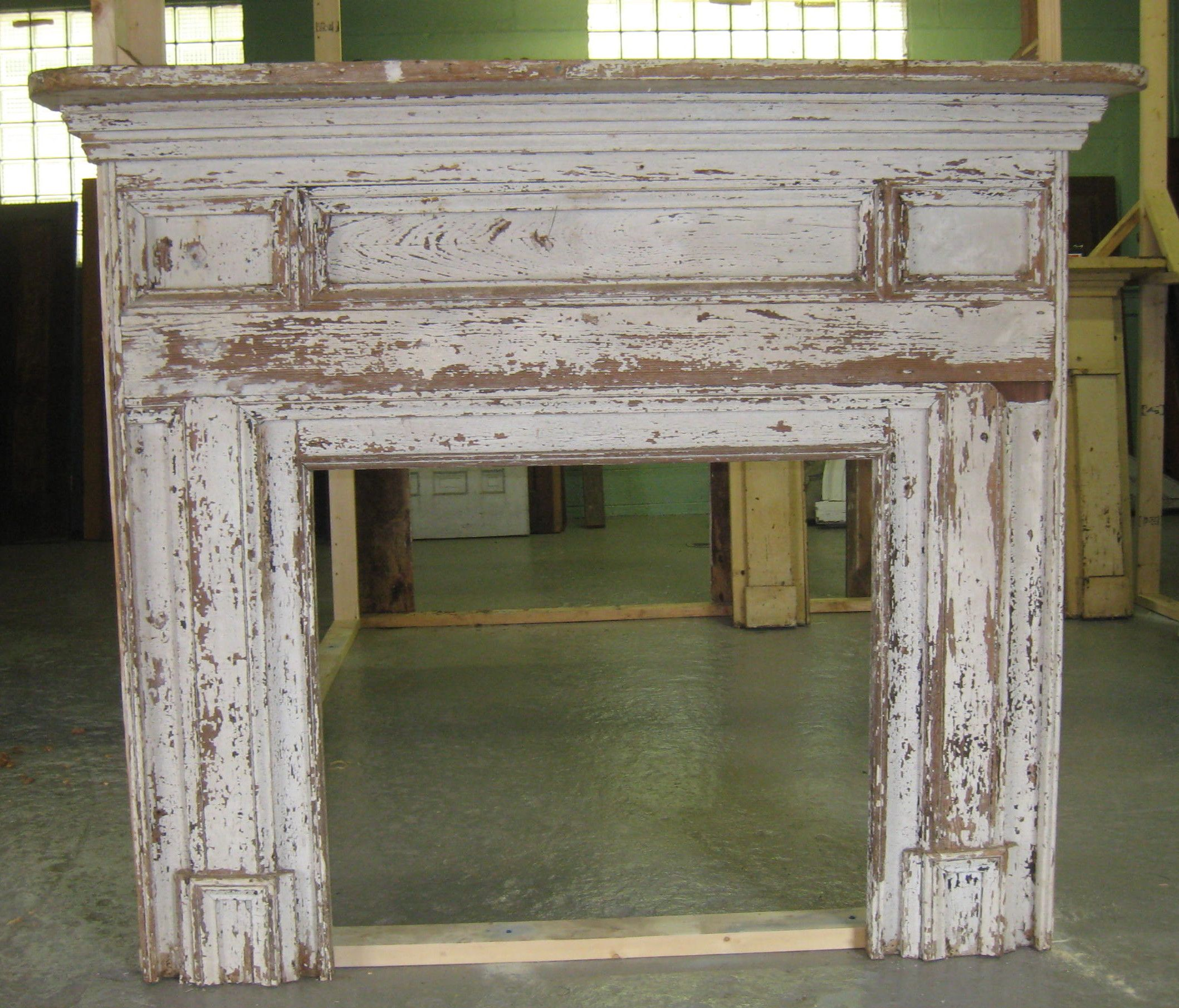 Architectural Salvage Old Mantle Old Fireplace Fireplace
