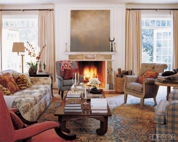 Elle Decor S Lookbook Country Style Living Room Eclectic Living Room Home