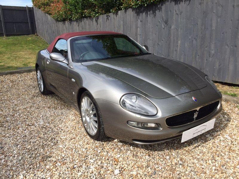 Maserati 4200 Spyder 2019 present. 2004 vintage, in