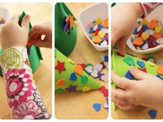 Colección de manualidades navideñas para niños sencillas y