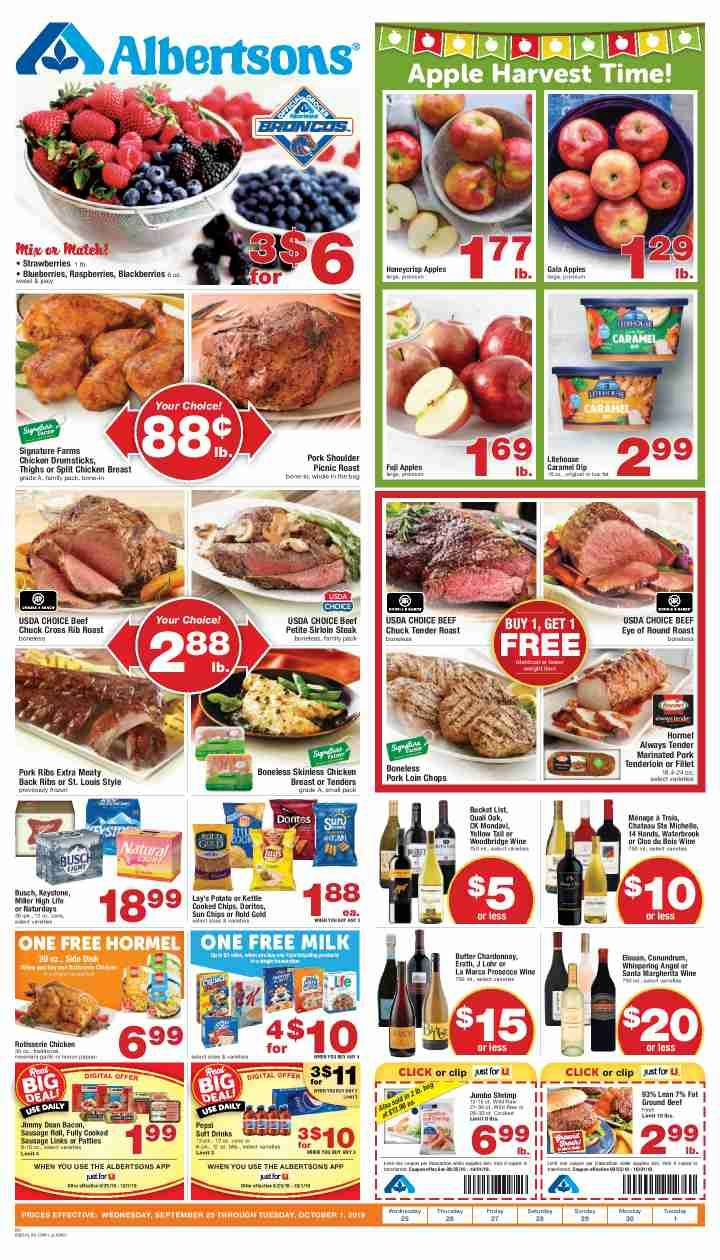 Albertsons Weekly ad Flyer 03/11/20 03/17/20 Weekly