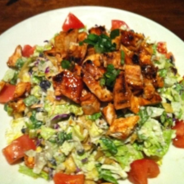 Wood Ranch-BBQ Chicken Salad.. I enjoyed this three times this week! - Wood Ranch-BBQ Chicken Salad.. I Enjoyed This Three Times This