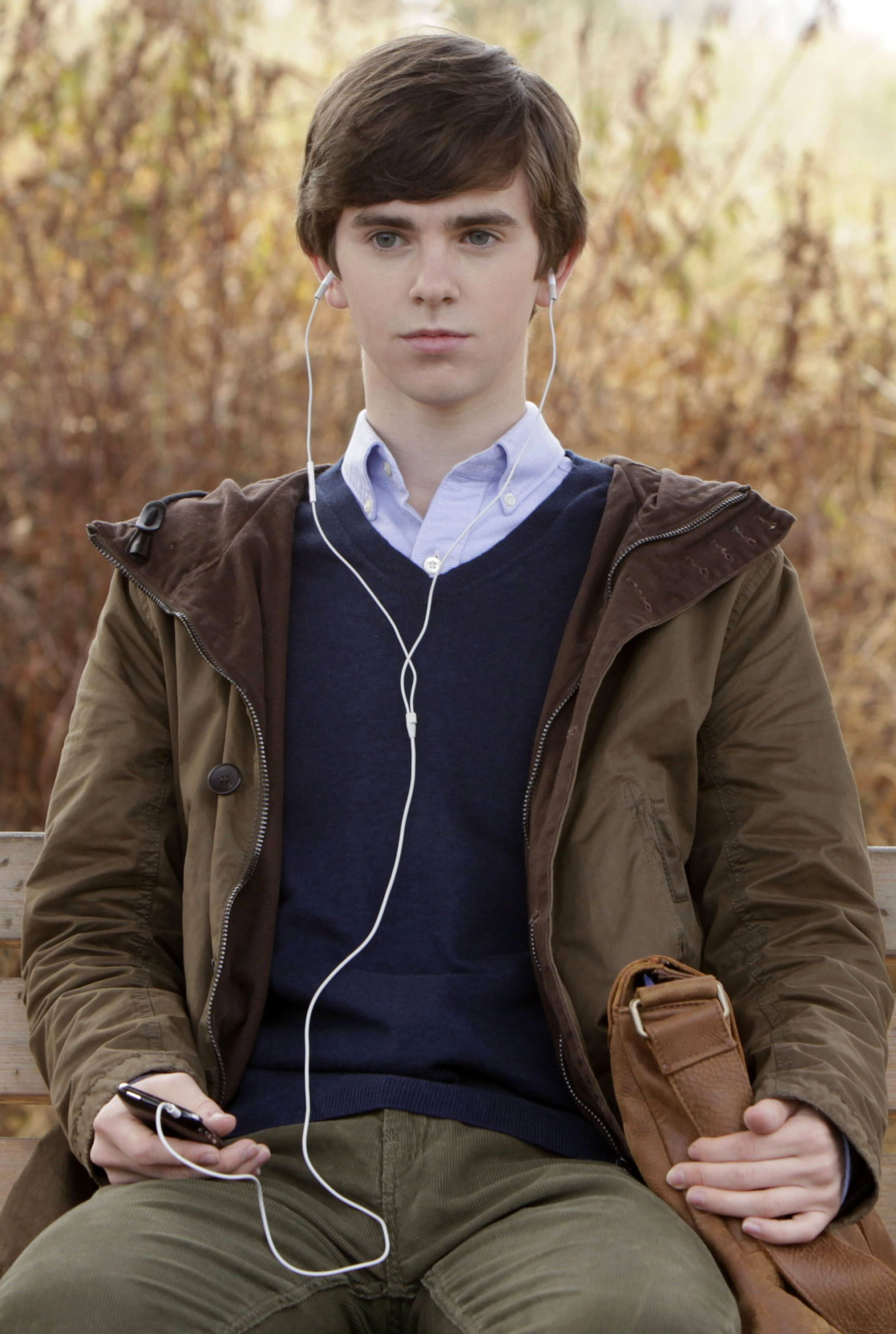 I seriously want to know what this guy is listening to for Freddie highmore movies and tv shows