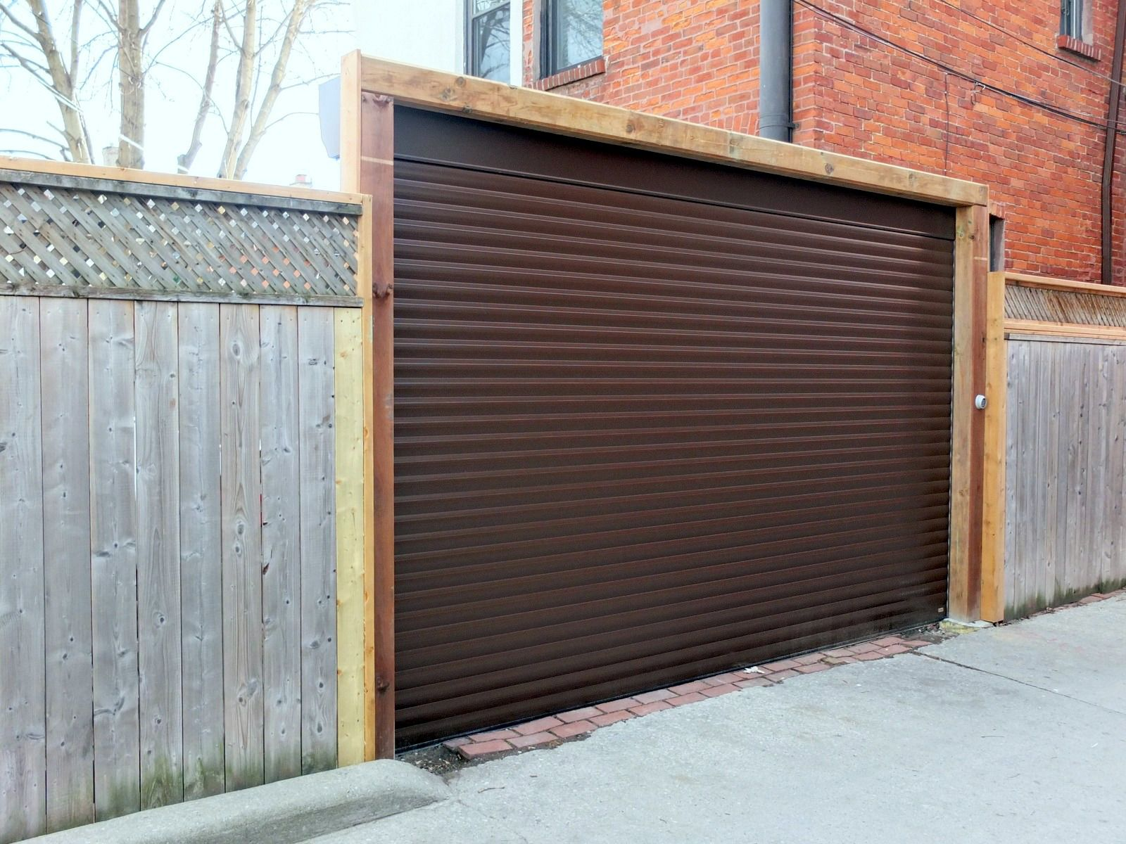45 Roll Up Garage Door 9 Corrugated Garage Doors Green Corrugated