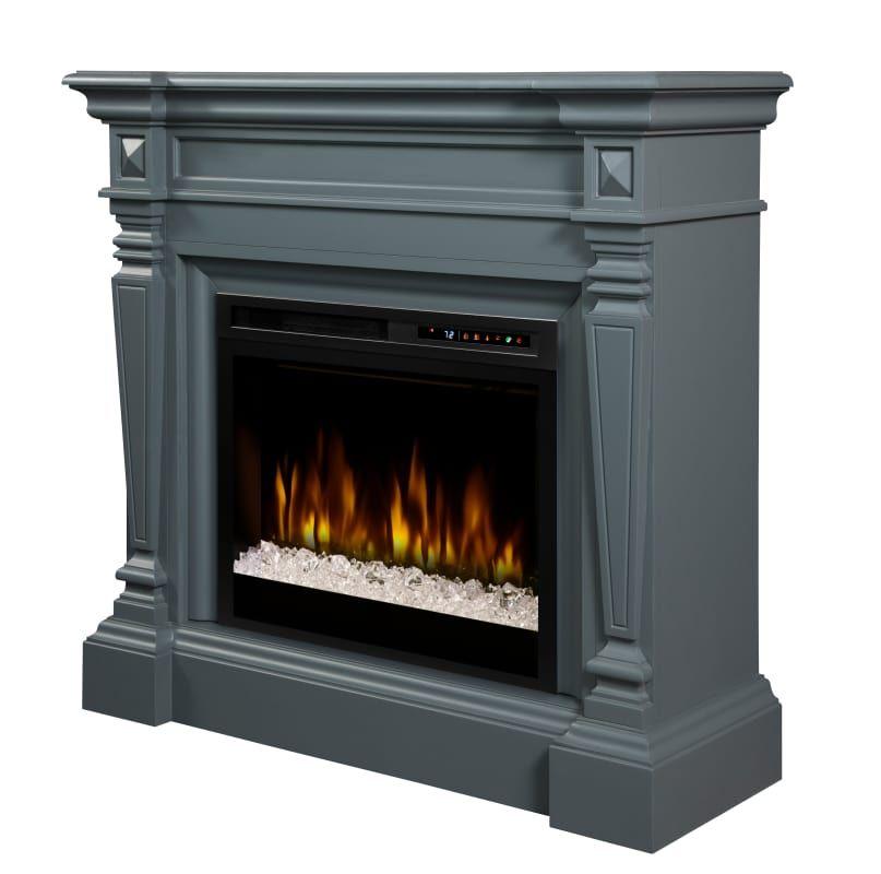 Dimplex Gds28g8 1941we Heather 5118 Btu 50 Inch Wide Free Standing Electric Fire Wedgewood Grey F Free Standing Electric Fireplace Electric Fireplace Fireplace
